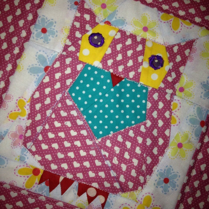 Patchwork and quilt – baby blanket