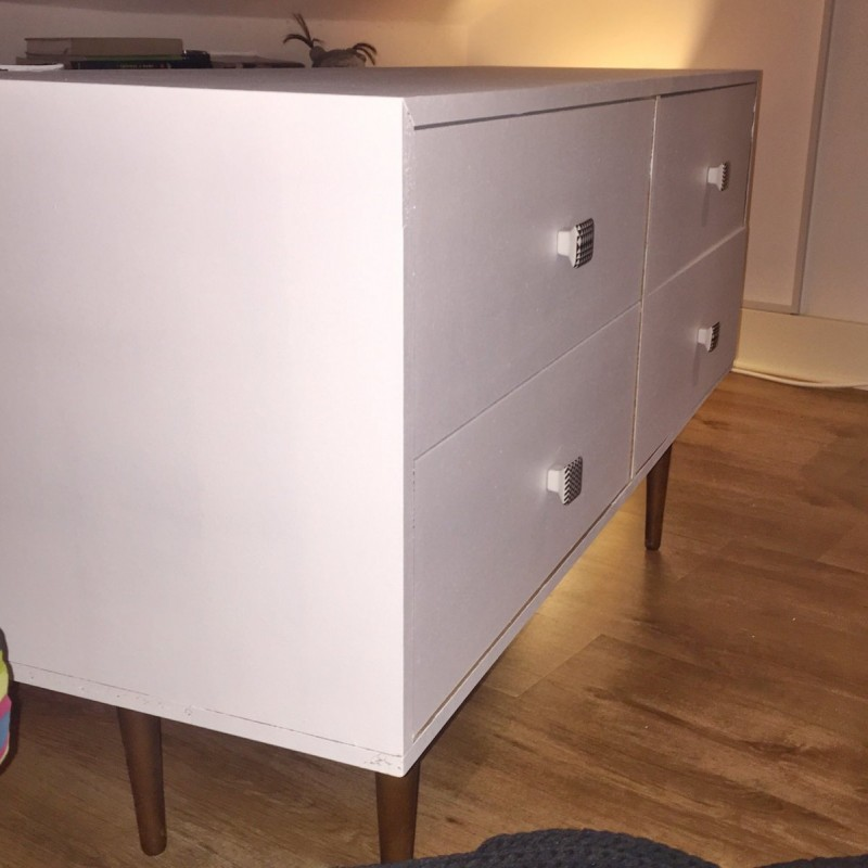 Renovated retro chest of drawers – SOLD