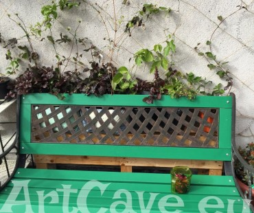 Trellis for your climbing plants – DIY