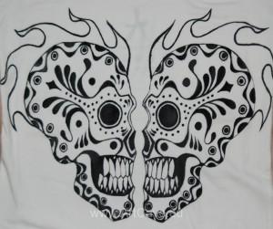 Nowa edycja ręcznie malowanych damskich koszulek.