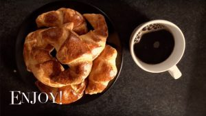 croisants and a coffee