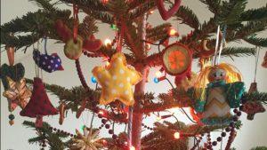 sewn christmas tree decor